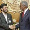 安南与伊朗总统内贾德