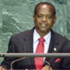 Grenadian Foreign Minister Elvin Nimrod