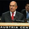 ElBaradei at the IAEA Conference in Vienna