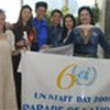 UN Staff participate in Parade of Nations