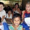 Refugee children from Myanmar