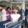 Reporters briefed on use of orthopaedic beds