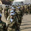 Last Nigerian troops board ferry from Freetown to Lungi