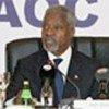 Kofi Annan addresses opening session