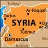 خريطة سوريا.