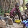 Girls start doing household work at a very young age