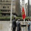 Flag raising for Republic of Montenegro