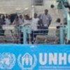 Liberian refugees on the Brenda Corlett