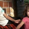 Young girl and her family fled violence in Colombia