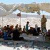 Palestinians at Iraqi-Syrian border (file photo)