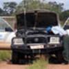 UNHCR vehicle