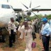 Last flight arrives in Nzara