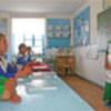 UNHCR-built school in Turkmenistan