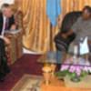 USG Pascoe meets Abdullai Yusef Ahmed
