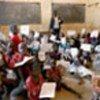 Congolese children in classroom