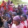 索马里战乱中的流离失所者