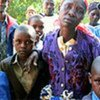 Family at camp in Kericho driven from their home by Kenya's post-election political violence