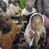 Children at the International Rescue Committee kindergarden in Hamadiya IDPs camp, Zalingei, West Darfur