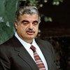 Former Lebanese Prime Minister, the late Rafiq Hariri.
