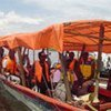 The distribution areas in central Katanga can only be reached by boat