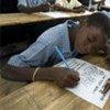 Des écoliers haïtiens.