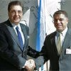 GA President Srgjan Kerim and Cuban Foreign Minister Felipe Perez Roque