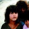 Trois fillettes afghanes à Kaboul.