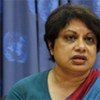 Radhika Coomaraswany, représentante spéciale du Secrétaire général sur les enfants et les conflits armés.