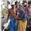Des survivants du cyclone Nargis