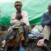 A family in North Kivu, DR Congo
