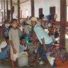 Damnificados en Myanmar