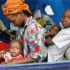IDPs at a shelter in the Rift Valley Province (file photo)
