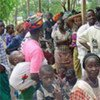 Sierra Leonean refugees in Boreah camp, Guinea (file photo)