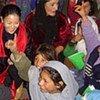 Des filles dans une école dans le village de Hussain Khel en Afghanistan.