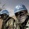 Casques bleus de l'Opération hybride ONU-Union africaine au Darfour (MINUAD).