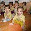 Enfants nord-coréens malnutris dans une crèche à Chongjin.