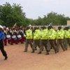Des officiers tchadiens ayant été formés par l'ONU.