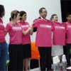 Secretary-General Ban Ki-moon and wife with members of  Dance4Life of HIV positive Mexican youth