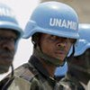 Soldats de la MINUAD (Darfour).
