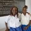 Des écolières au Libéria.