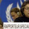 UN Special Rapporteur, Asma Jahangir