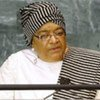 Ellen Johnson-Sirleaf, Présidente du Libéria.