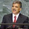 Le Président turc Abdullah Gül.