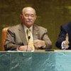 Secretary-General Ban Ki-moon, Assembly President Miguel d'Escoto Brockmann open high-level event