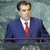 Emomali Rahmon, President of the Republic of Tajikistan