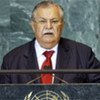 Le président iraquien Jalal Talabani.