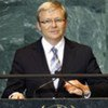 Kevin Rudd, Minister for Foreign Affairs of Australia, addresses General Assembly