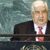 Walid Al-Moualem, ministre syrien des Affaires étrangères.