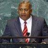 Prime Minister Josaia V. Bainimarama of the Republic of the Fiji Islands