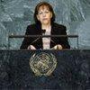 Foreign Minister Rita Kieber-Beck of the Principality of Liechtenstein